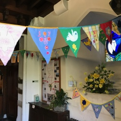 EASTER BUNTING @ St Nicholas Church