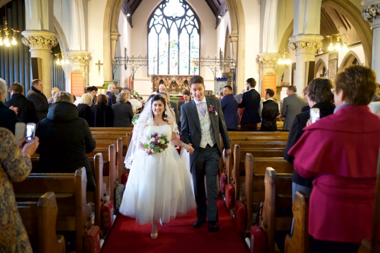 Pictures from Rebecca & Matthew's wedding on 11th February at St Nicholas